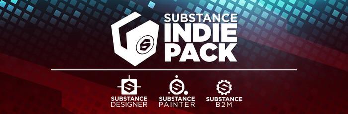 Substance Pack - Indie, скидка в steam Скидки в Steam, Steam, Компьютерная графика, 3d, Steam распродажа