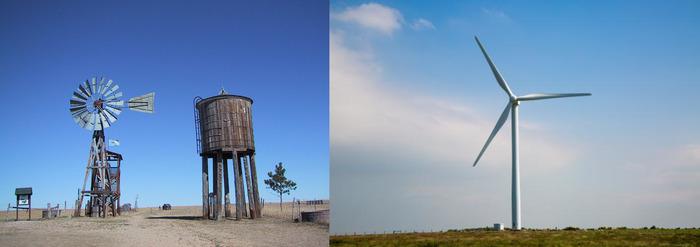 Мечты сбываются. Ветряная мельница, Amazon, Джефф Безос, Ветропарк, Альтернативная энергетика, Гифка