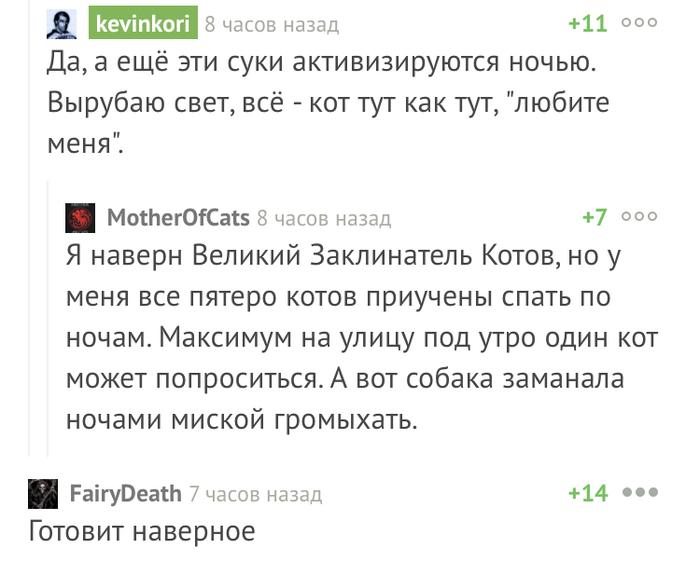 И снова божественные комментарии Комментарии, Скриншот
