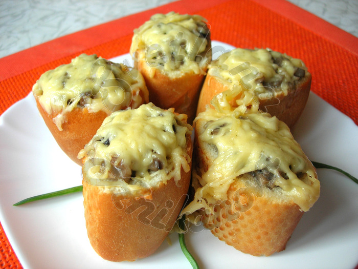 Пирожки из багета «ЛЕНИВАЯ ЖЕНА» Еда, Рецепт, Кулинария, Пирожки с грибами, Багет, Видео, Блюдо, Ленивая жена, Длиннопост