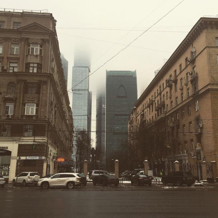 Контрасты Москвы
