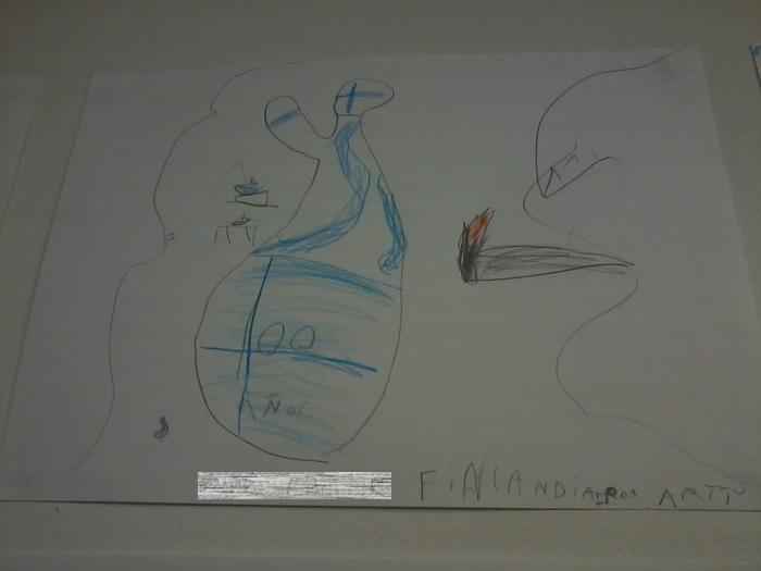 Немного о детском творчестве в Финляндии Финляндия, Карелия, Россия-Финляндия, Детские рисунки, Длиннопост