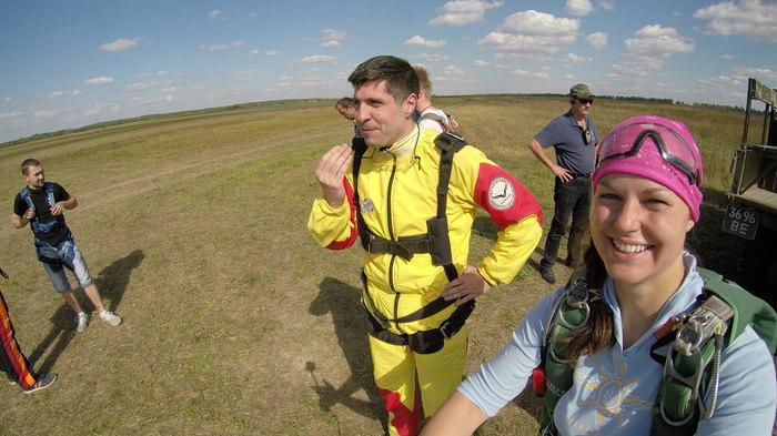 Первый прыжок с парашютом Случай из жизни, Юмор, Длиннопост, Прыжок с парашютом