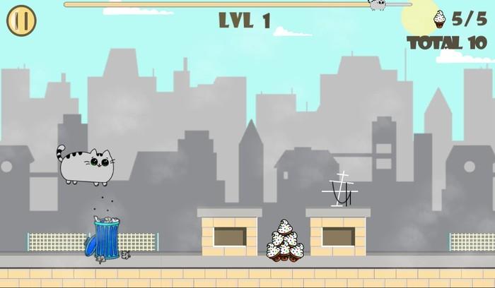 История создания моей первой игры для Android Игры, Android, Милота, Кот, Бегун, Инди, Длиннопост, Аркада