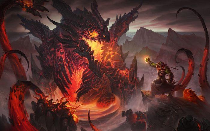 Deathwing battle