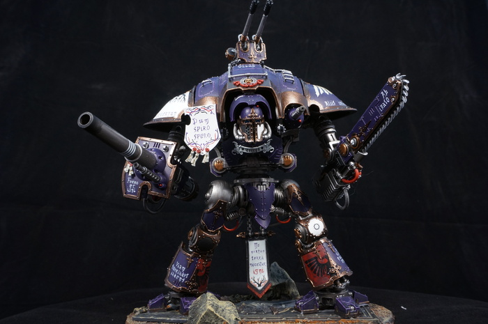 Nocte Vagus (Imperial Knight) Wh miniatures, Warhammer 40k, Imperial knight, Миниатюра, Моделизм, Длиннопост