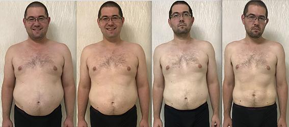 сбросить вес за месяц мужчине