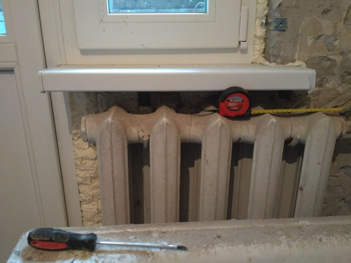 Ремонт в квартире своими руками 2017. Часть 3 Дверь, Туалет, Ремонт, Батарея отопления, Длиннопост