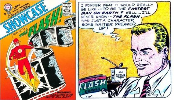Факты о супергероях: Барри Аллен Супергерои, Dc comics, The Flash, Барри Аллен, Комиксы-Канон, Длиннопост