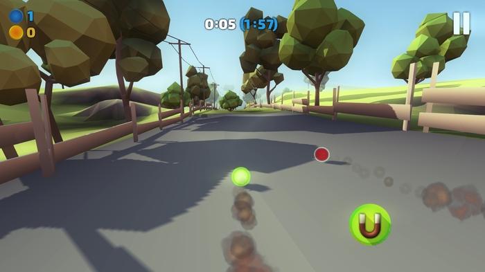 История разработки мобильной игры в Unity Low poly, Lowpolyart, Arcadegame, Бегун, Unity, Unity3d, Indiedev, Gamedev, Длиннопост