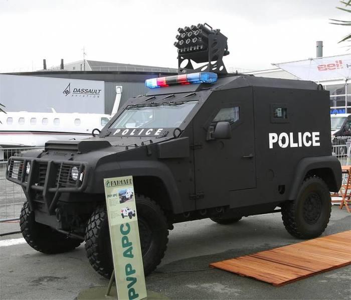 Бронированные машины: сначала поле боя, а теперь и полиция Военное обозрение, Вооружение, Бронетехника, Спецтехника, Длиннопост