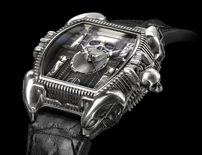 Часы в стиле Ганса Руди Гигера Часы, Гигер, Биомеханика