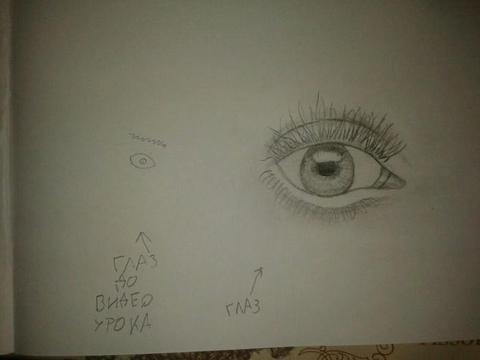 Решил научиться рисовать, буду сравнивать навык до и после Рисунок, Художник