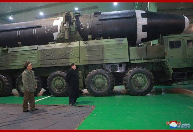 КНДР: Кадры испытательного пуска межконтинентальной баллистической ракеты Хвасон-15 Северная Корея, США и КНДР, Ракета, Политика, Длиннопост