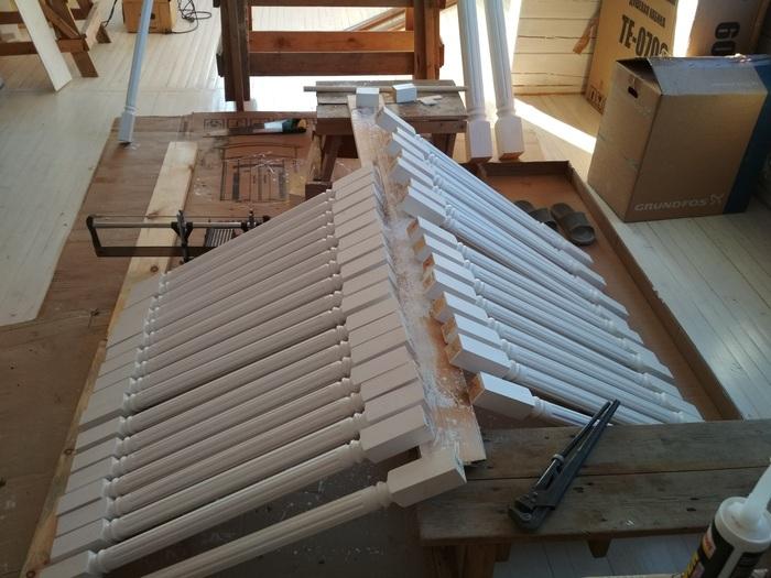 Лестница своими руками Своими руками, Лестница, Работа с деревом, Строительство, Длиннопост