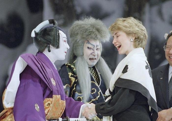 Хиллари Клинтон в Токио, Япония, 1993 год