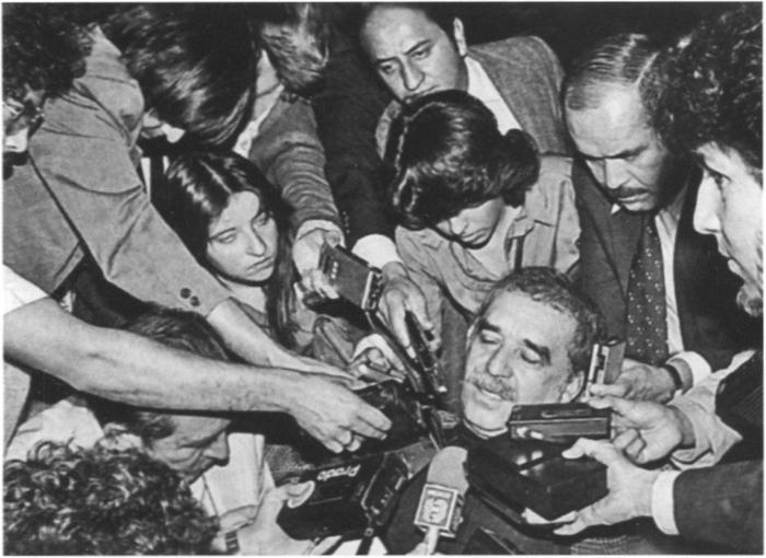 Пресса и Габриэль Гарсиа Маркес, Мехико, 1981 год