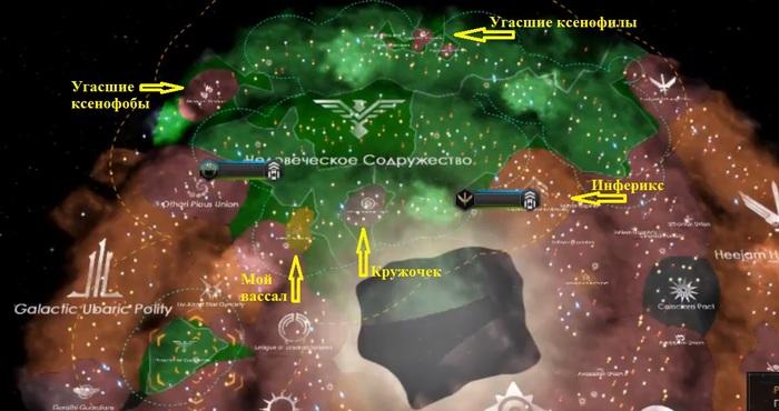 Stellaris. Человеческое Содружество. Часть 4. Stellaris, Стеларис, Paradox Interactive, Стратегия, Видеоигра, Длиннопост