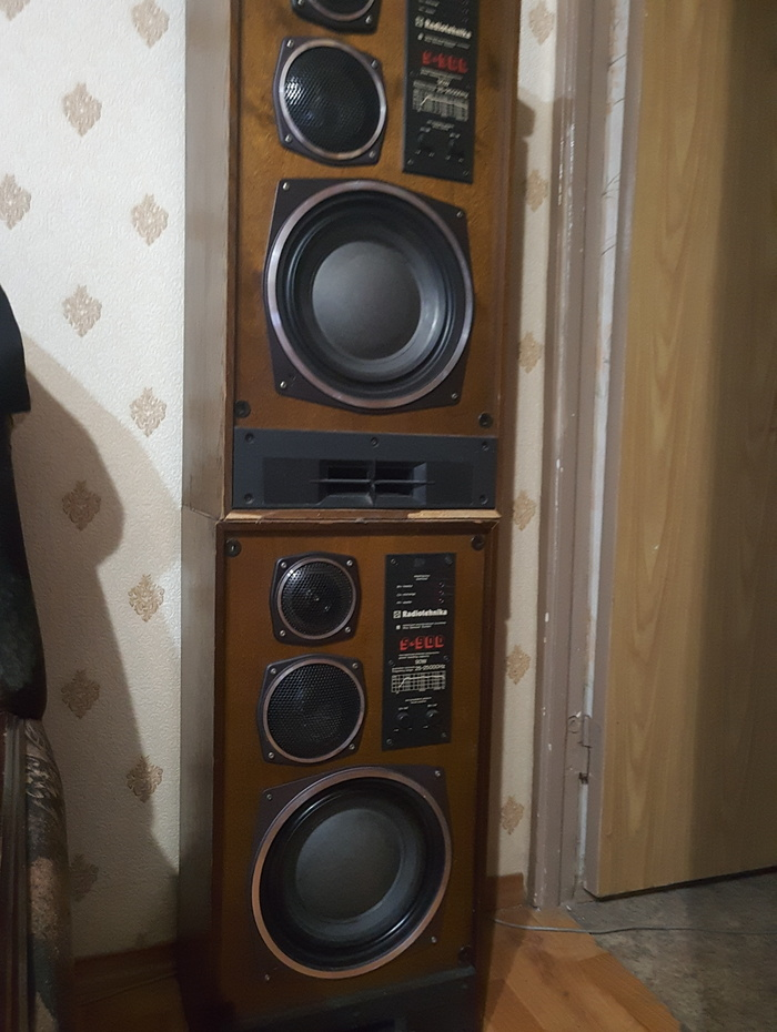 Откопал дома колонки Радиолюбители, Усилитель звука, Колонки, Длиннопост