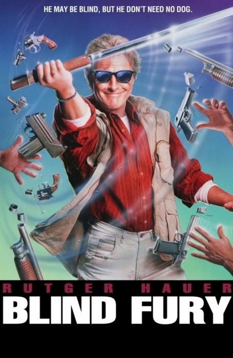 По волнам детских воспоминаний: «Слепая ярость» (1989) Ностальгия, Боевики, Фильмы 90-х, Рудгер Хауэр, Кинохиты, Видео, Длиннопост