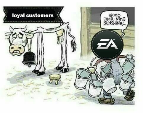 Перевод не нужен или очередная шутка в сторону EA Games