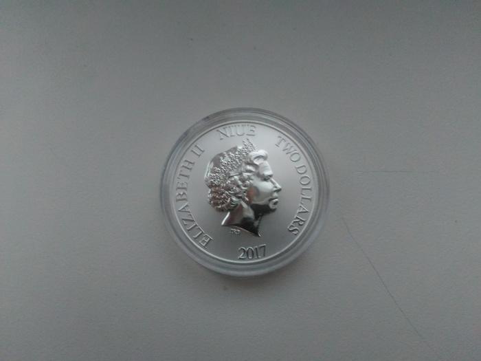 Подарили монетку Монета, Нумизматика, Дарт вейдер, Star wars