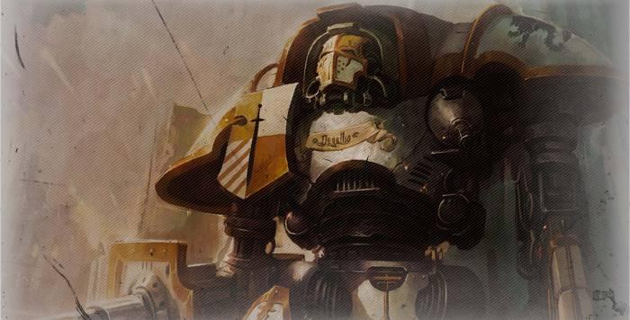 Прогулка с Гигантами Warhammer 40k, Wh humor, The Regimental Standard, На заметку, Перевел сам, Длиннопост