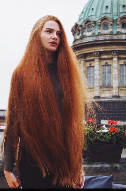 Фото длинные волосы у девушек