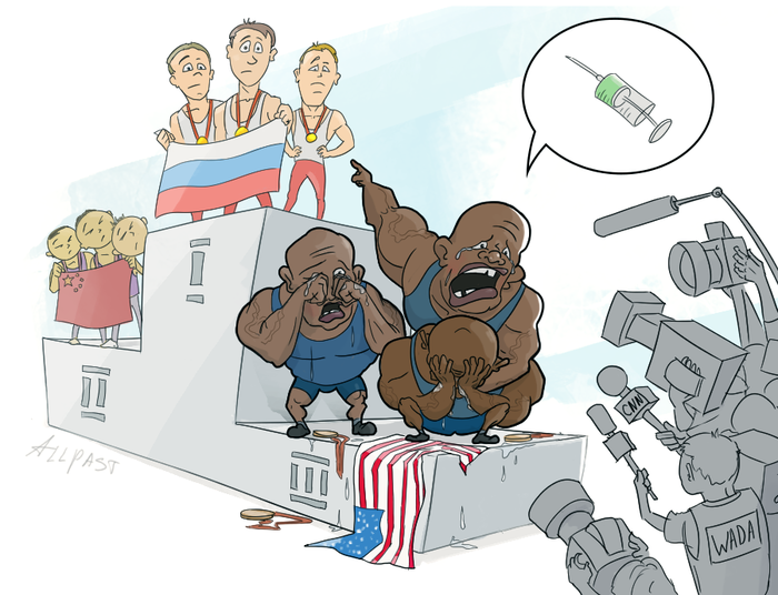 МОКу придётся смириться с фактом того, что российские спортсмены чистые