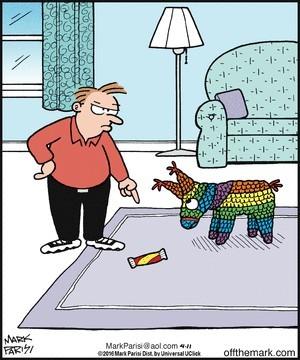 Кто это сделал? Комикс #23