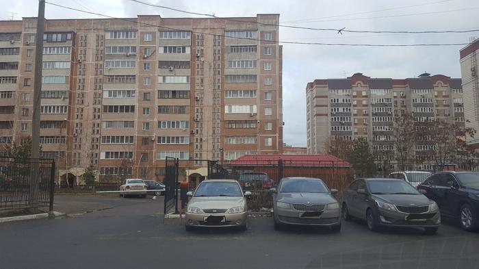Самовольная платная стоянка. Казань Казань, Парковка, Захват, Длиннопост