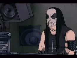 Нейросеть написала блэк-метал альбом Наука, Новости, Нейронные сети, Black Metal, Музыка, IT, Гифка