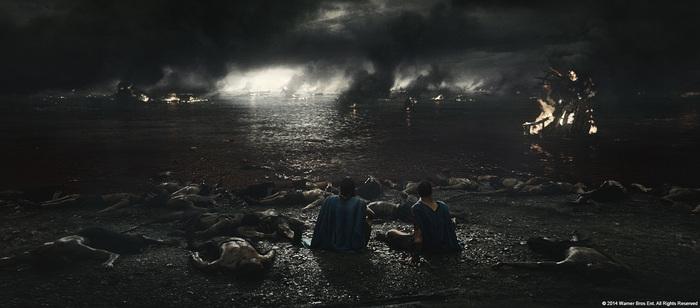 Спецэффекты фильма «300 спартанцев: Расцвет империи» Фильмы, 300 спартанцев, Спецэффекты, До и после vfx, Длиннопост