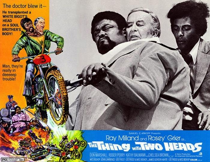 """""""Щ-щикарно!"""" Фильмы, 1972, Голливуд, Нечто с 2 головами, Треш, Видео"""