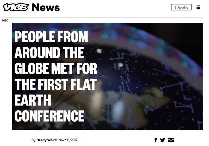 Заголовок хуже удара по яйцам плоскоземельцев Плоская земля, Издевательство, Заголовок, Конференция