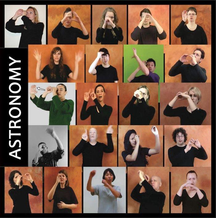 Создан первый словарь астрономических терминов для 30 жестовых языков Наука, Новости, Астрономия, Термины, Словарь, Язык жестов, Язык, Гифка