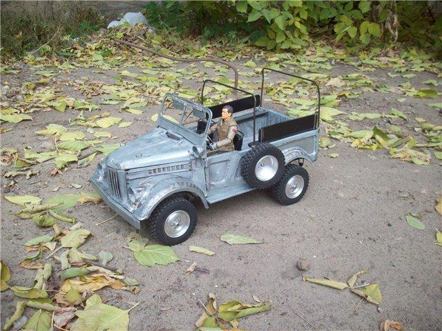 Как сделать радиоуправляемую модель автомобиля ГАЗ-69