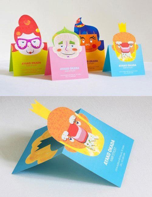 Креативные визитки Визитка, Дизайн, Креатив, Длиннопост