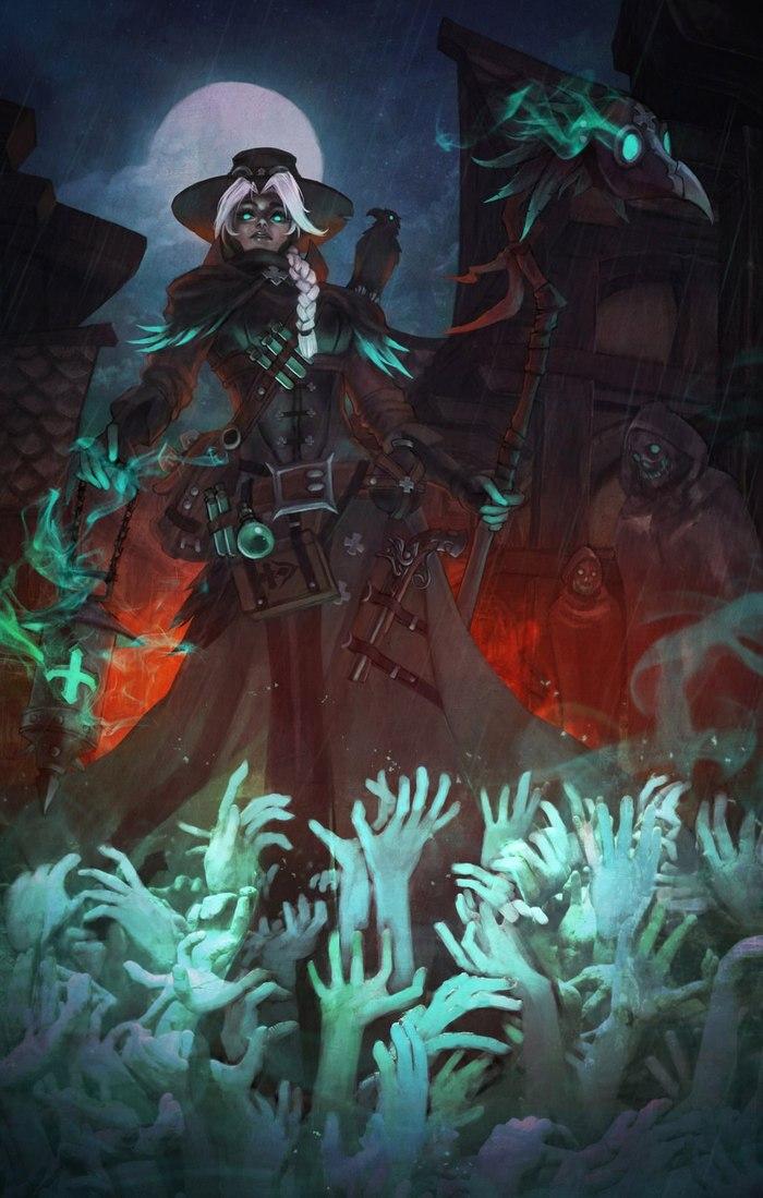 Plague Doctor Mercy