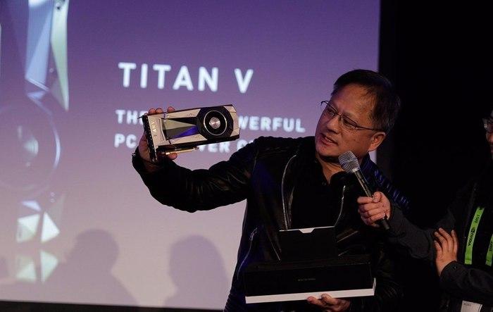 Nvidia Titan V — самая мощная и дорогая видеокарта для ПК nvidia, видеокарта, технологии, видео, длиннопост