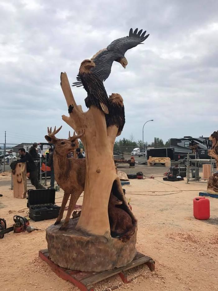 Резьба по дереву резьба по дереву, скульптура, соревнования, ремесло, животные, длиннопост