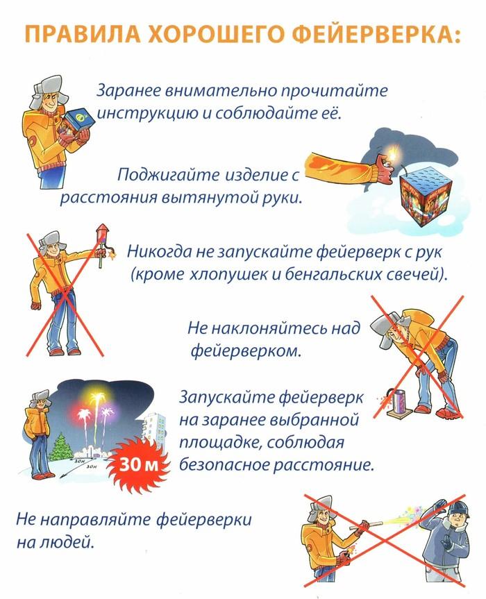 Правила безопасного фейерверка Новый год, Пиротехника, Фейерверк, Петарда, Техника безопасности