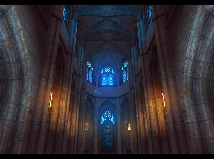 The Elder Scrolls IV: Oblivion. Скриншот, Елена Никулина, Обливион, The Elder Scrolls IV: Oblivion, Oblivion, Часовня