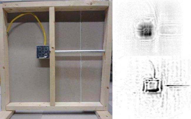 Новая методика позволяет видеть объекты за стенами из любого материала технологии, Наблюдение, сквозь стены, слежка
