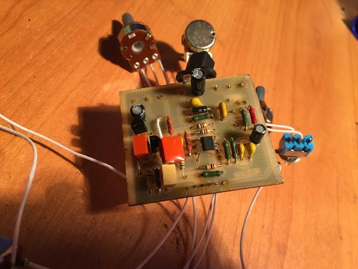 OCD Fulltone на минималках :) Самопал, Гитарная педаль, Самоделки, Радиолюбители, Электрогитара, Своими руками, Длиннопост