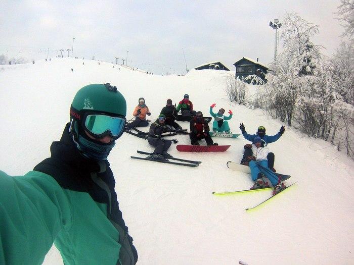 Первое знакомство со сноубордом Случай из жизни, Длиннопост, Сноуборд, Туутари парк, Юмор