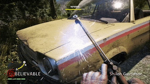 Природа наносит ответный удар Far Cry 4, Игры, Fail, Юмор, Гифка