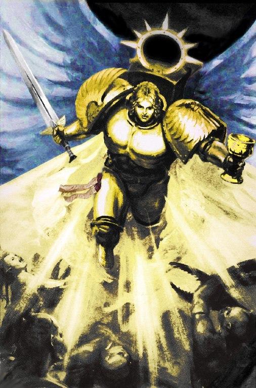 Сангвинор, Эталон воинства Warhammer 40k, Blood Angels, wh back, длиннопост