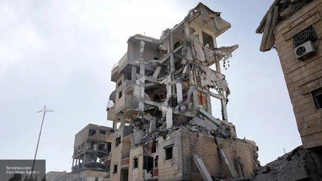 """Как коалиция США """"помогала"""" Сирии Сирия, Россия, США, Франция, Коалиция, Новости, Политика, Война"""