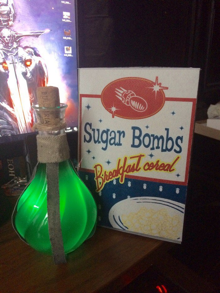 Утро понедельника нужно начинать с сахарных бомб и зелья выносливости